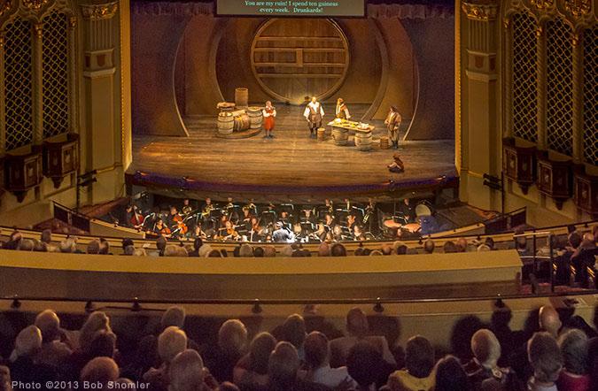 California Theatre Views From Mezzanine