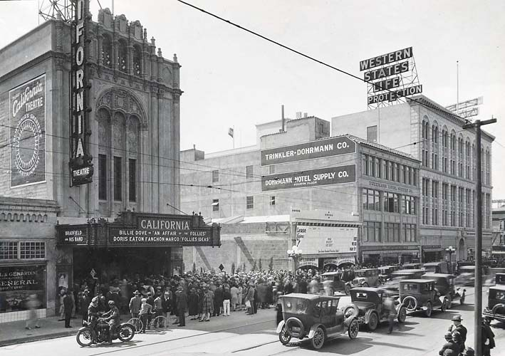 South St Street San Jose Ca  Movie Theater